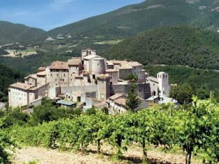 Foto - Terratetto unifamiliare via Santa Caterina, Vallo di Nera