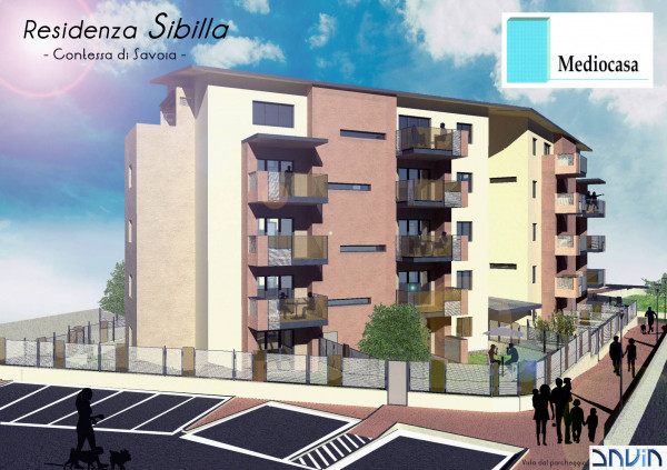 Vendita Appartamento Chieri. Trilocale, Nuovo, ultimo piano, posto ...