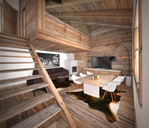 foto  Appartamento nuovo, piano rialzato, Cortina d'Ampezzo
