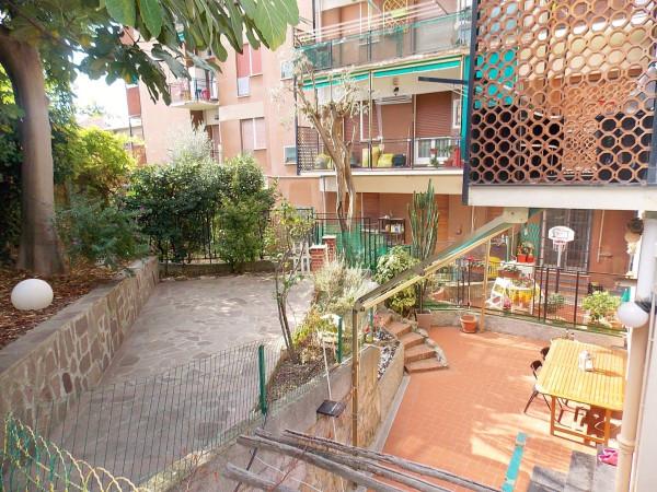 foto giardino Bilocale via Romagna, Genova