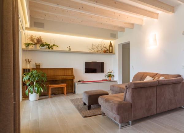 foto Living Appartamento via Rialto, Padova