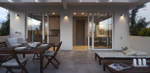 Beautiful mansarde con terrazzo ideas idee arredamento casa