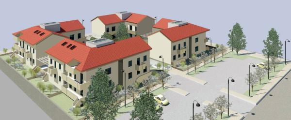 foto Prospetto ester Nuovi Appartamenti a Corbetta
