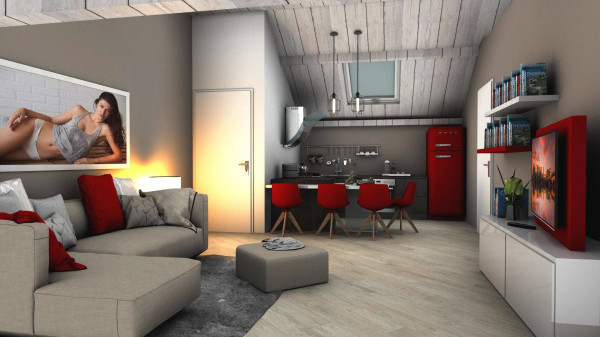 Vendita loft open space torino da ristrutturare posto for Loft open space torino
