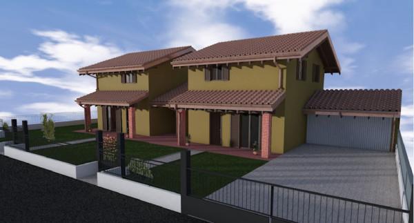 foto  Villa, nuova, 124 mq, Borgo Ticino