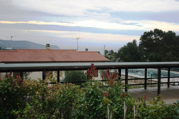 foto vista mare-p. auto Villa via Fonte di Rose, Capoliveri