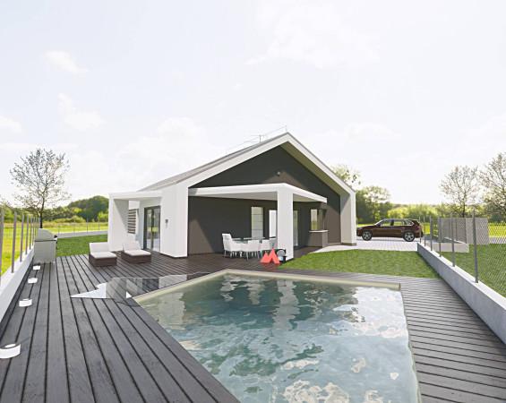 foto  Villa, nuova, 155 mq, Maggiora