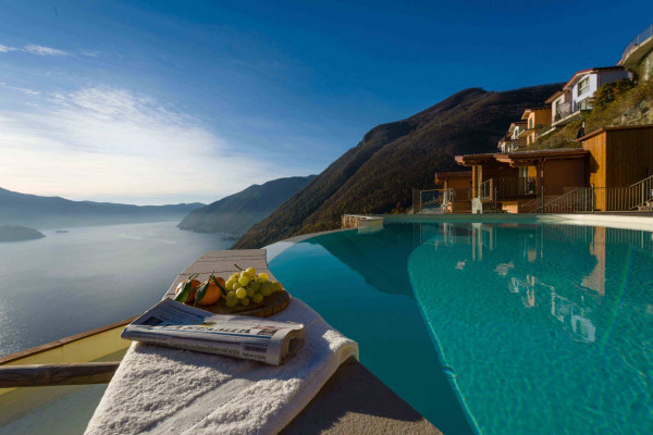 foto Vista panoramica Villa via delle Sirene, Parzanica