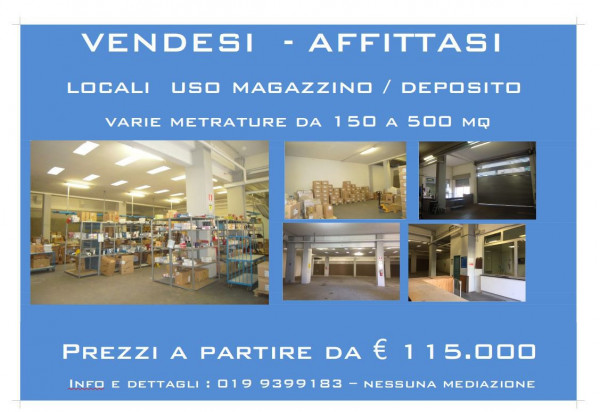 foto  Magazzino in Vendita a Savona