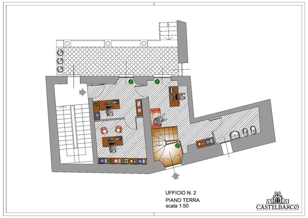 foto planimetria Ufficio in Vendita a Casatenovo