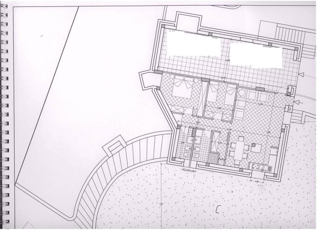 foto planimetria Vierzimmerwohnung via Massa Piano dell'Orco 2, Maratea