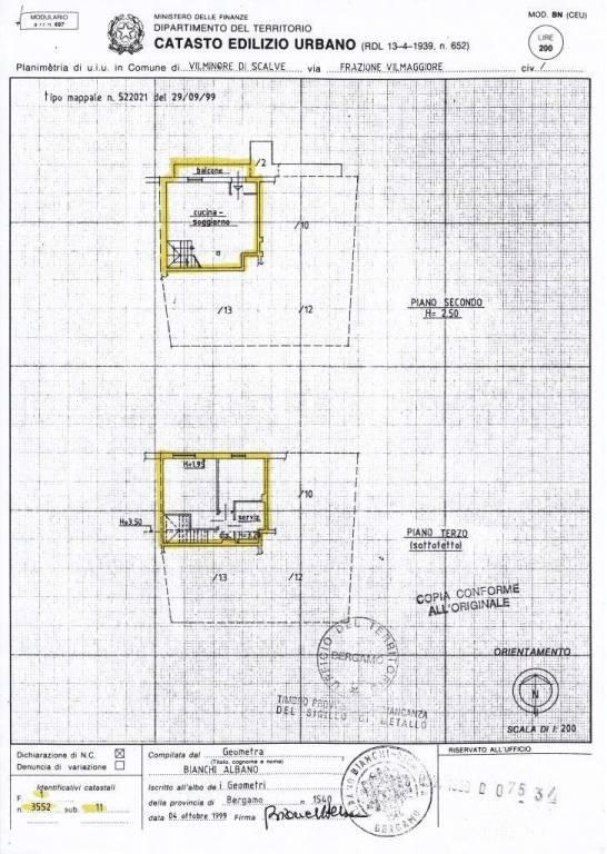 foto  3-room flat via Presolana 5, Vilminore di Scalve