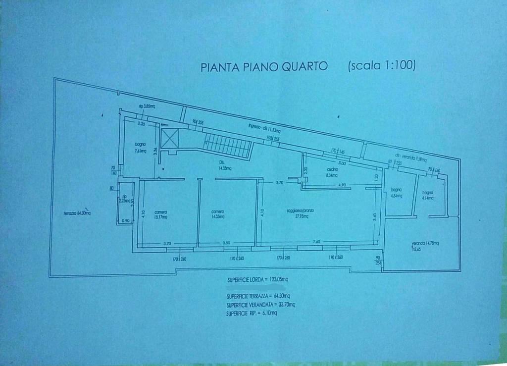 foto  Penthouse good condition, 120 sq.m., Campi Bisenzio