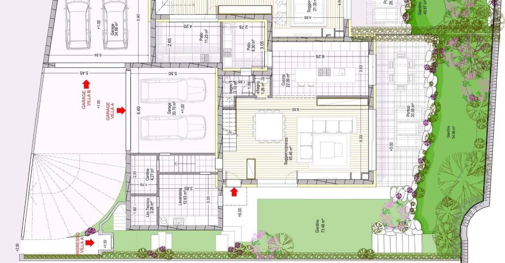 Vendita Villa Rezzato Nuova Riscaldamento Autonomo 240 Mq Rif