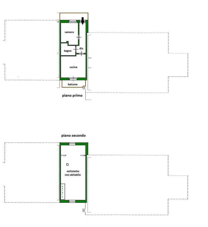 foto Planimetria 2-room flat via del Bacino, Usseaux