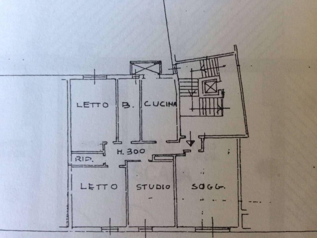 foto planimetria1 Appartamento via di Roma 127, Ravenna