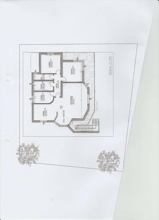foto Plan 1 Villa bifamiliare, nuova, 280 mq, Ponti sul Mincio