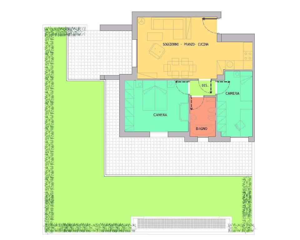 foto  3-room flat largo Marco Biagi, Reggio Emilia