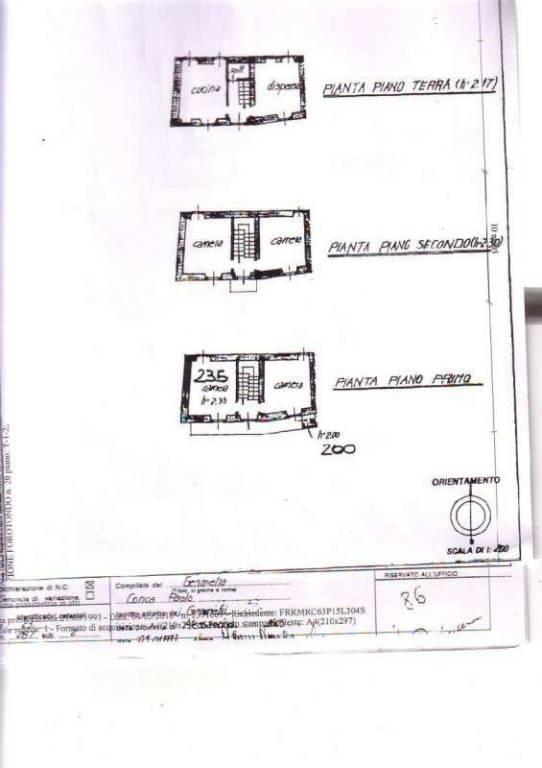foto planimetria_1_casa_forotondo.jpg Detached house frazione Forotondo Località Costiolo, Fabbrica Curone