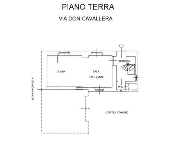 foto Plan. P.T. Casa indipendente via Professor Don Cavallera 44, Boves
