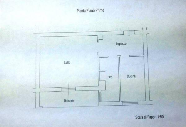 foto Planimetria Γκαρσονιέρα καλή κατάσταση, πρώτος όροφος, Tropea