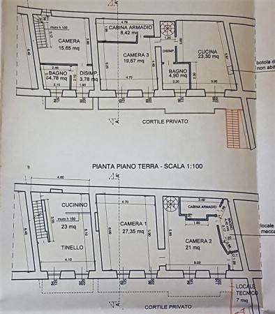 foto  Single-family townhouse 283 sq.m., good condition, Reano