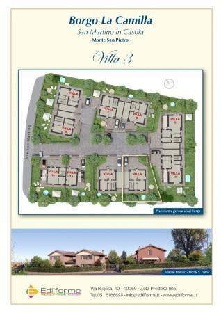 foto  Villa unifamiliare, nuova, 318 mq, Monte San Pietro