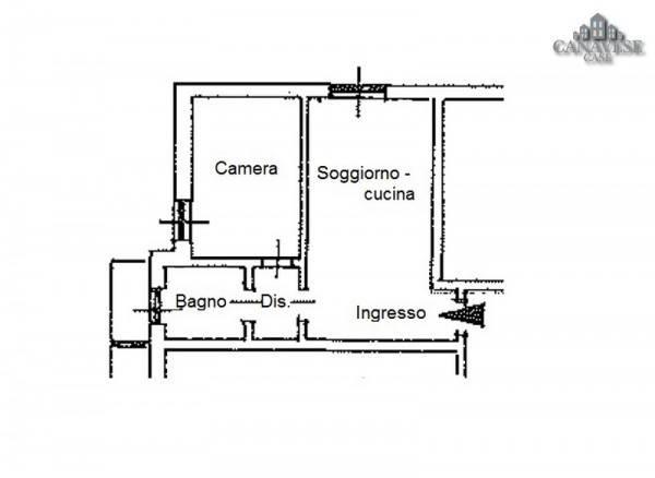 foto piantina Bilocale via Enzo Migliore 5, Brosso