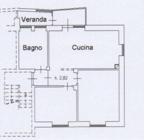foto Plan. Alloggio Trilocale Villaggio Unrra 6, Boves