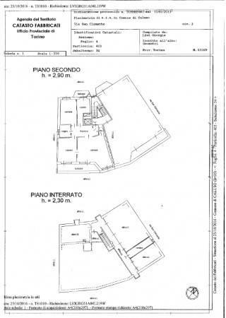 foto Plan1 Quadrilocale via San Clemente, Caluso