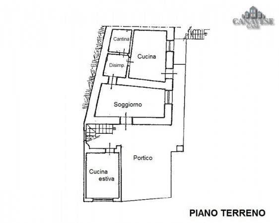 foto piantina Detached house frazione Ferrero 29, Canischio