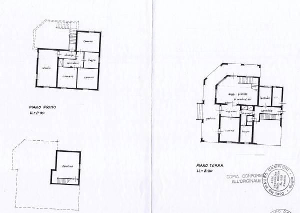 foto Planimetrie immobile Villa unifamiliare, buono stato, 380 mq, Guiglia