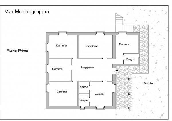 foto  Two-family villa via Montegrappa 31, Masone