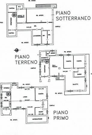 foto planimetria Single family villa, excellent condition, 330 sq.m., Sommariva Perno