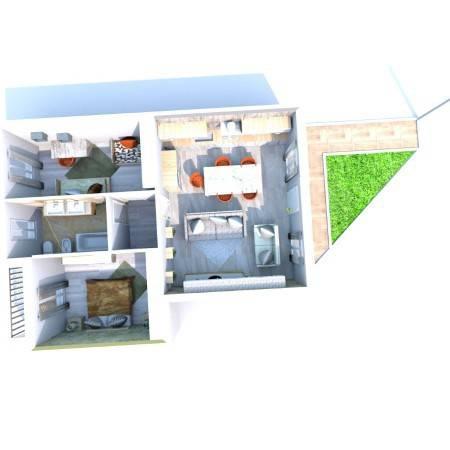 foto prospetto 3-room flat excellent condition, mezzanine, Sedrina