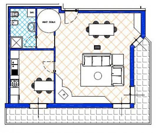 foto  3-room flat new, top floor, Novedrate