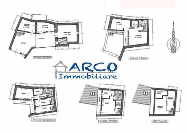 foto  Casa indipendente 200 mq, buono stato, Arco