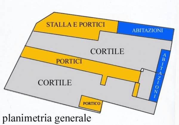 foto Planimetria generale Деревенский дом, хорошее состояние, 3150 m2, Casei Gerola