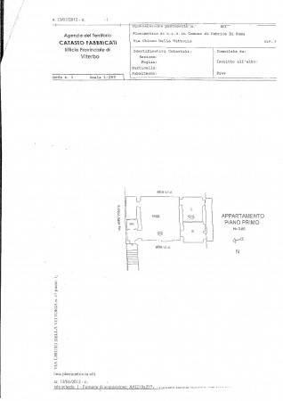foto Planimetria 3-room flat via della Vittoria 37, Fabrica di Roma