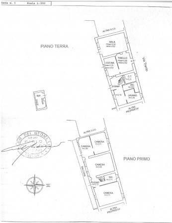 foto Planimetria Single family villa via Trento 4, San Nazzaro Sesia