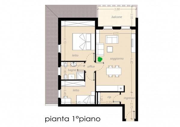 foto  3-room flat via Michelangelo Buonarroti, Roncoferraro