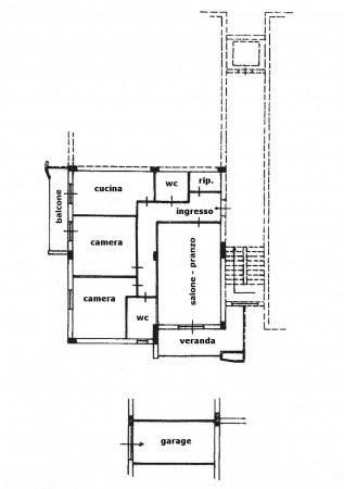 foto pianta appartamento Appartamento via Giovanni Falcone, Avola
