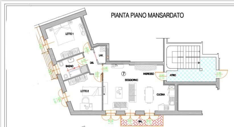 foto  3-room flat piazza della Chiesa 2, Spinadesco