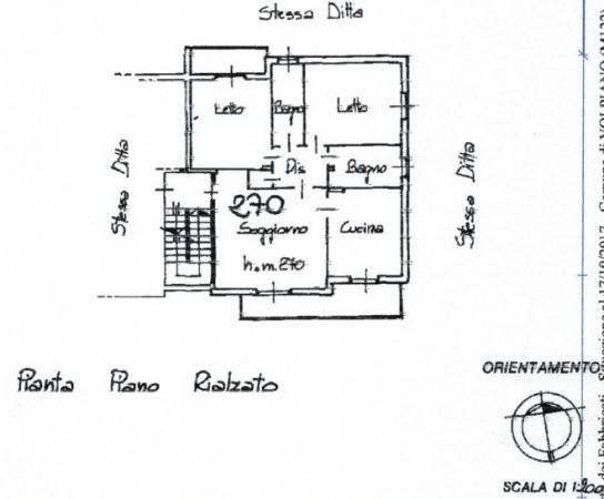 foto  Quadrilocale via Cesare Pavese 27, Volpiano