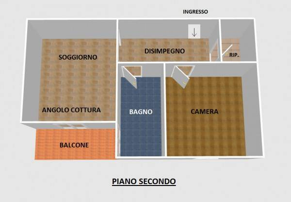 foto  Bilocale via Lunate 22, Canzo