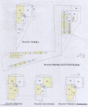 foto piantina Trilocale Contrada Giardino, Colonnella