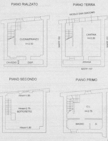 foto  Casa indipendente via discesa Sancroce, Castell'Arquato