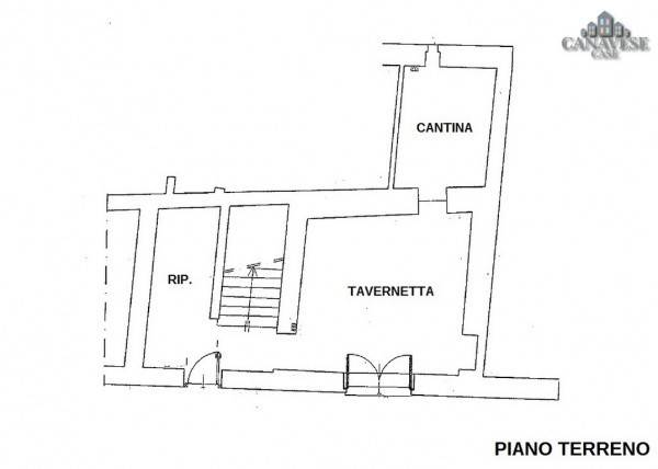 foto piantina Single-family townhouse Borgata Sant'Antonio 61, Favria