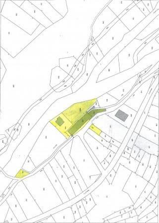 foto estratto di mappa Detached house Borgata Mulino, Massello