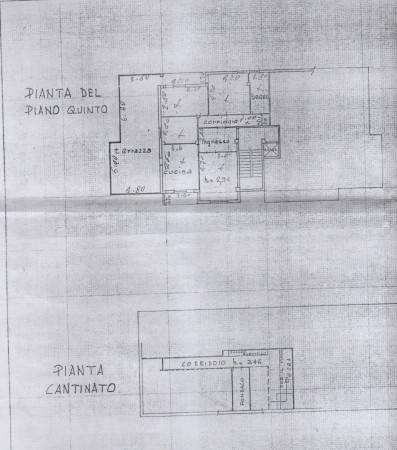 foto planimetria Appartamento buono stato, quinto piano, Sant'Egidio alla Vibrata